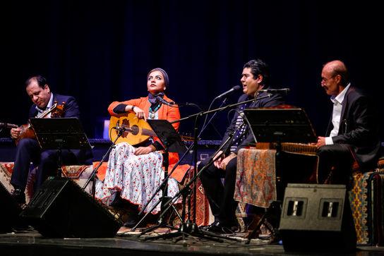 کنسرت گروه مولانا برگزار شد