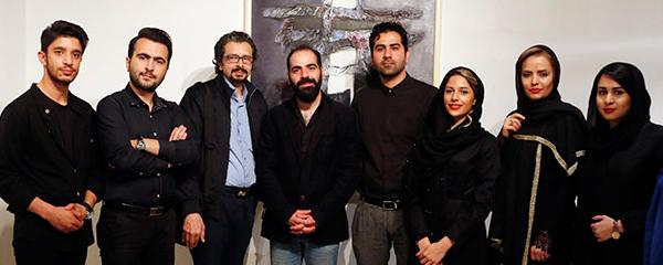 موسیقی «مهیار علیزاده» در نمایشگاه آثار پدرش اجرا شد