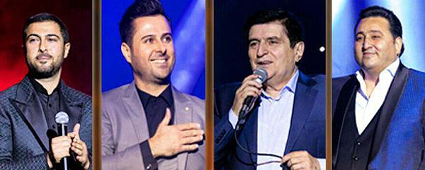 آیهان بار دیگر با سه خواننده آذربایجانی به صحنه میرود