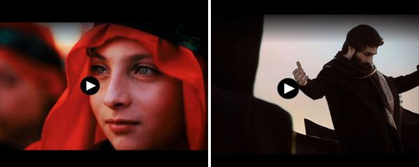 موزیک ویدئوی «لبیک یا حسین (ع)» و «آقا من جا موندم» در آستانه اربعین منتشر شد