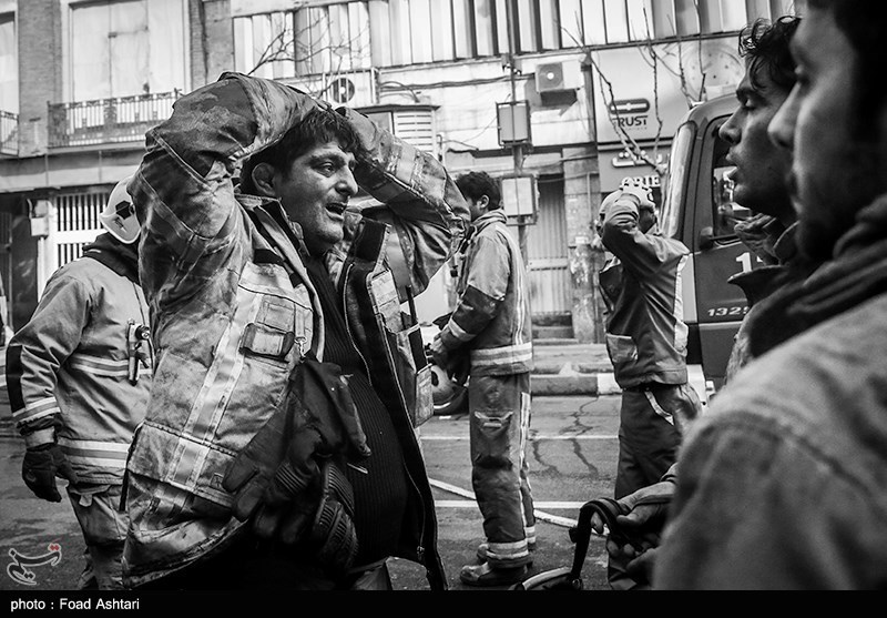 سوگ و دلتنگی ایران برای #قهرمانان_پلاسکو