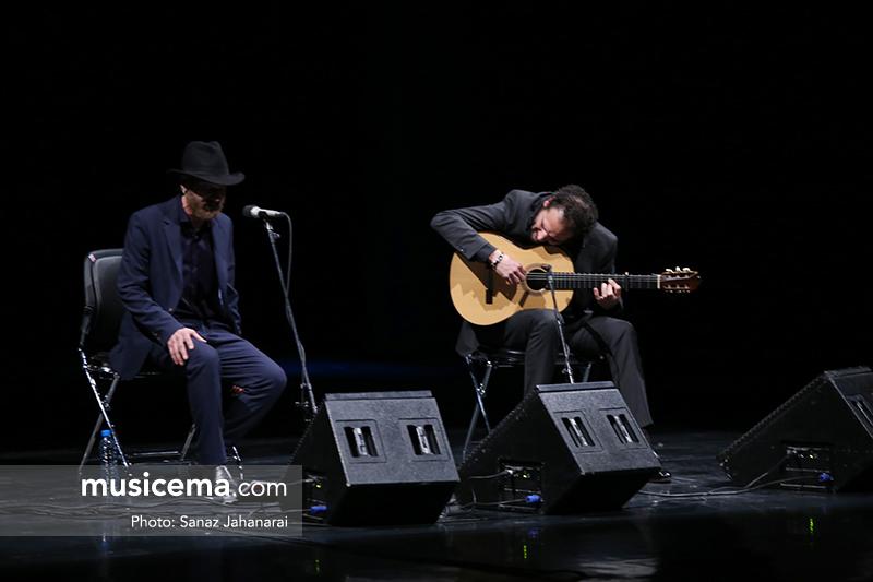 طعم موسیقی فلامنکو با صدای دورگهی دکوئنده و گیتار دل مورائو