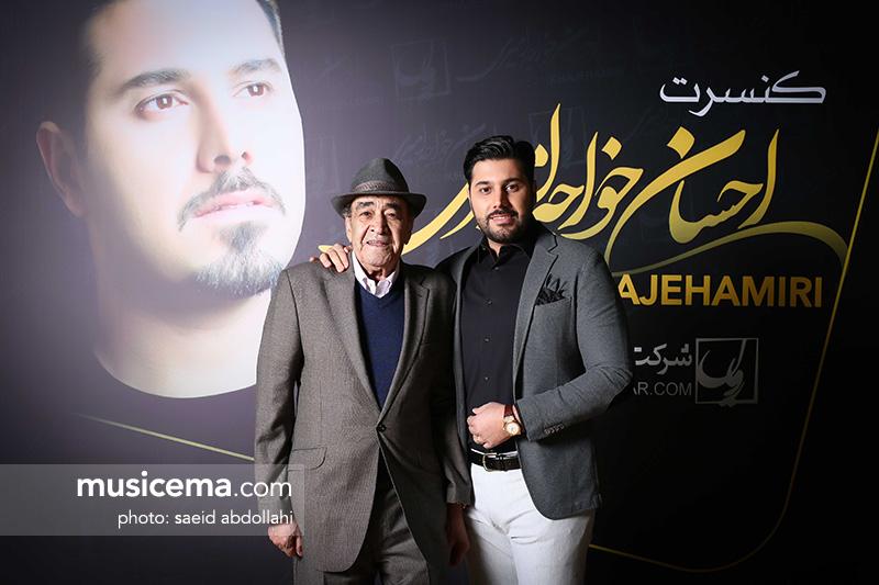 احسان خواجهامیری: تابستان آینده با استاد ایرج روی صحنه میروم
