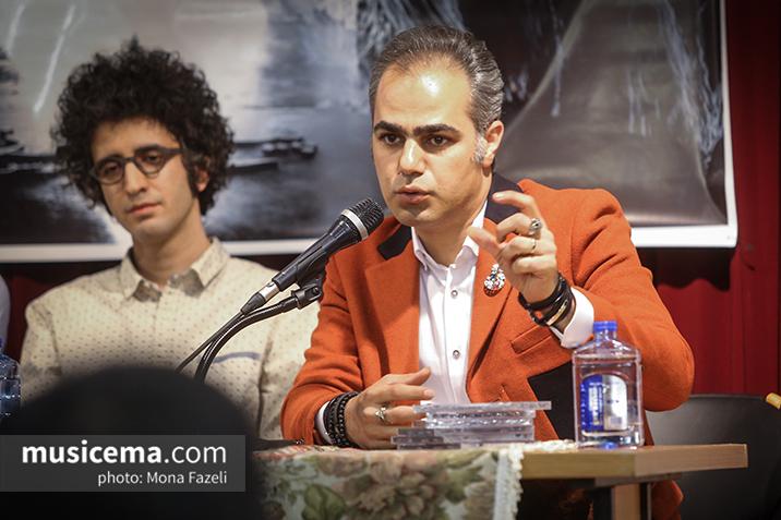 مراسم رونمایی از آلبوم «پیچ هرز» اثر وحید موسویان برگزار شد
