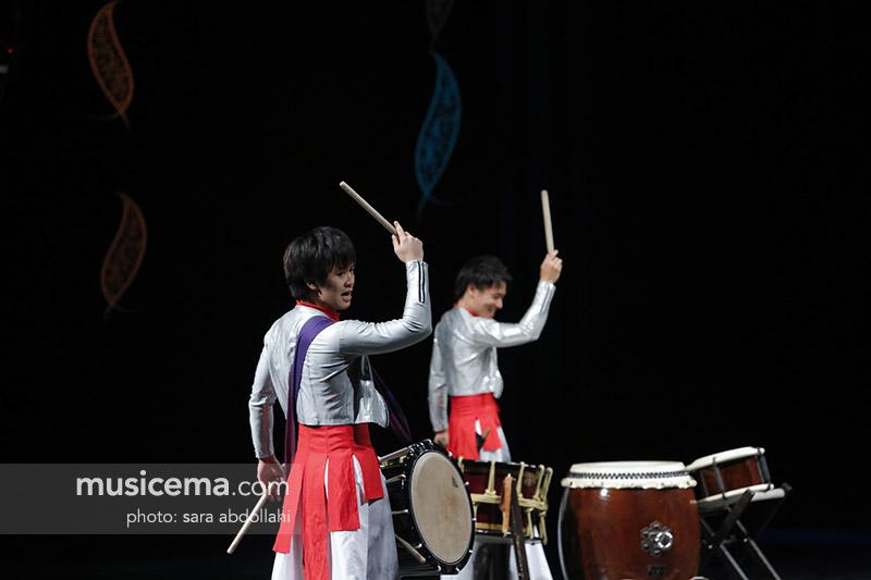 ساموراییها به تالار وحدت آمدند