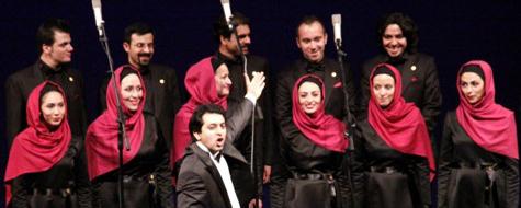 کنسرت گروه «کر آوازی تهران» با یک رهبر فرانسوی