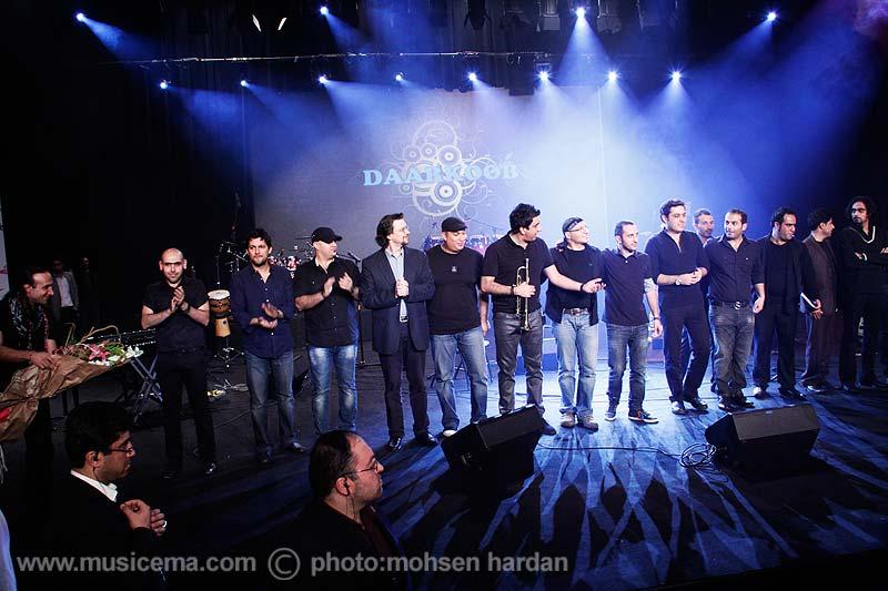 کنسرت گروه دارکوب