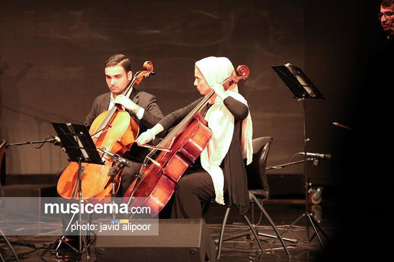 مرضیه اخوان نژاد محمد معتمدی در برج میلاد «به سوی تو» را خواند   موسیقی ما