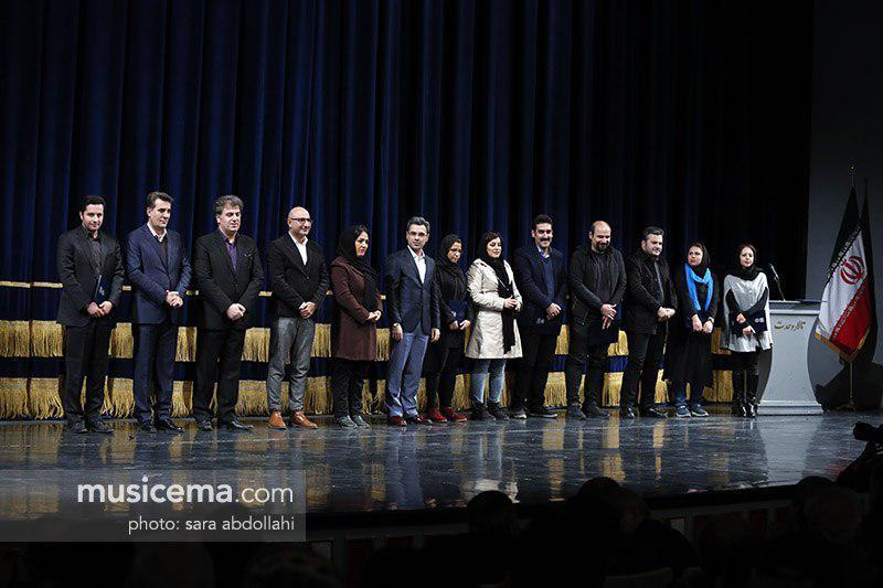 سایت موسیقی ما، روزنامه ایران و خبرگزاری مهر به عنوان رسانههای برگزیده تقدیر شدند