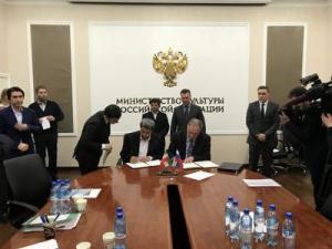 امضای تفاهم نامه همکاری بنیاد رودکی و کنسرواتوار دولتی مسکو