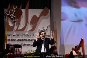 شوالیه ی آواز ایران بارِ  دیگر از مولانا می خواند
