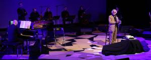 شعرخوانی شمس لنگرودی در کنسرت «ساکن روان»