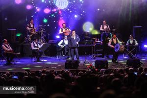 کنسرت شاد آذری ها در تالار وزارت کشور برگزار شد