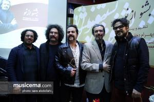بهرام دهقانیار: این آلبوم در راستای تولید یک اثر موسیقی خالص خلق شده است