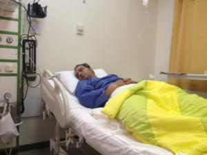 «شهرام شکوهی» از روی تخت بیمارستان، بروی صحنه رفت!