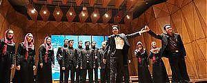 گروه آوازی تهران مدال نقره مسابقات جهاني چين را كسب كرد