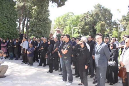 گزارش «موسیقی ما» از مراسم تشییع «آندره آرزومانيان» - 1