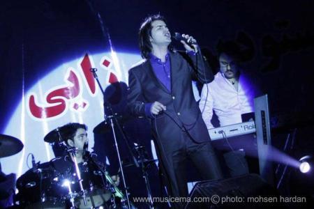 گزارش تصویری از کنسرت محسن یگانه در رودهن