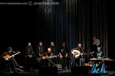 گزارش تصویری از اجرای دیدنی گروه رستاک در برج میلاد تهران - 1