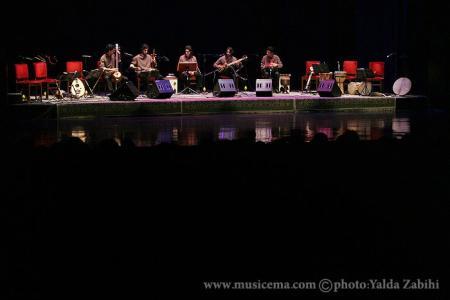 گزارش تصویری از کنسرت گروه همنوازان حضار و همایون شجریان -2