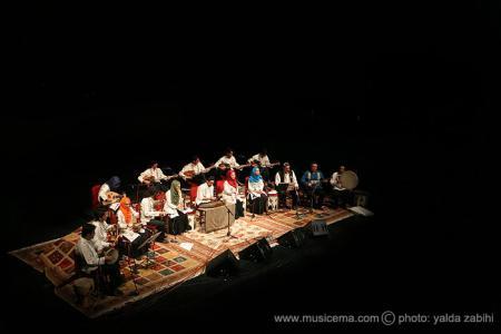 گزارش تصویری از اجرای گروه «طریقت» در تالار وحدت