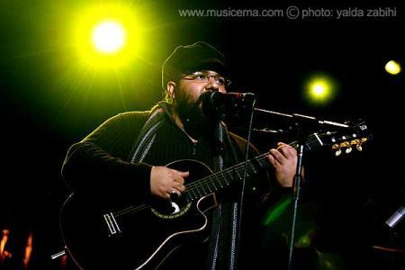 عکسهای یلدا ذبیحی از کنسرت رضا صادقی در تالار وزارت کشور - 1