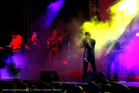 گزارش تصویری از کنسرت حمید عسکری در کرج