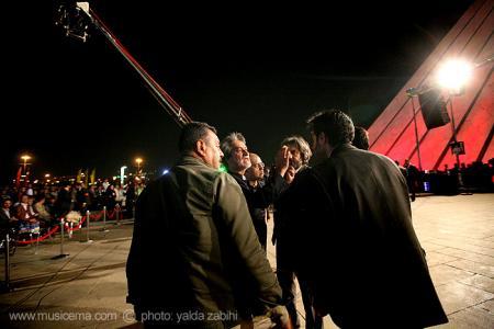 گزارش تصویری سایت موسیقی ما کنسرت ارکستر سمفونیک تهران در میدان آزادی - 1