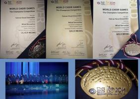 مدالهای جشنواره لتونی بر گردن موسیقیدانان ایرانی آویخته شد