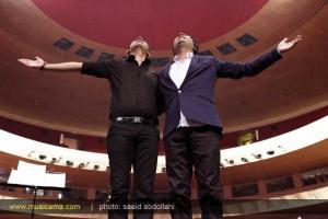 اجرای مشترک و ویژه بهنام صفوی و شهاب رمضان در برج میلاد