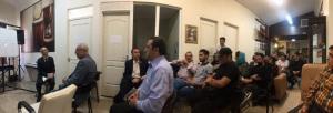 نشست اعضاء دپارتمان آواز انجمن صنفی هنرمندان موسیقی ایران - 27 اردیبهشت 1398