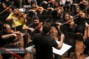 تمرین ارکستر ملی به رهبری سهراب کاشف
