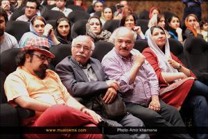مراسم رونمایی از آلبوم خرده های تاریکی - خرداد 1394