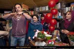 مراسم رونمایی کتاب جدید «نیلوفر لاریپور» با عنوان «عشق کوچک من»
