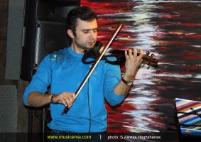تمرین امید جهان و گروهش برای کنسرت - آذر 1394