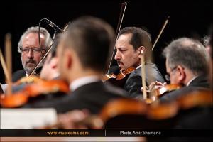 اجرای ارکستر ملی ایران - دی 1394