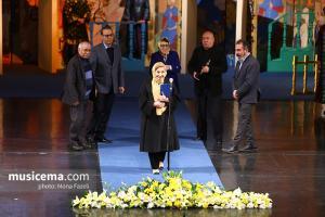 حضور فخری ملک پور در چهارمین جشن سالانه موسیقی ما