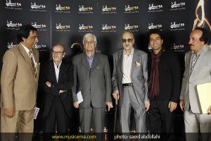 عبدالوهاب شهیدی در جشن سالانه موسیقی ما
