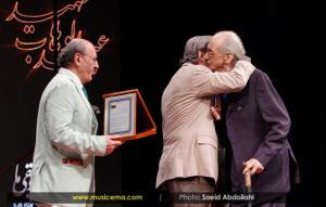 عبدالوهاب شهیدی در اولین جشن سالانه موسیقی ما