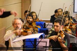 تمرین اپرای عاشورا - آذر 1393