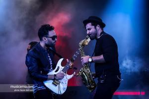 کنسرت گروه سون در تهران - 16 آبان 1398