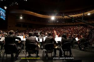 کنسرت ارکستر سمفونیک البرز با اجرای آثاری از «هوشنگ کامکار» - اردیبهشت 1394