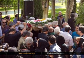 مراسم تشییع پیکر استاد منصور نریمان - تیر 1394