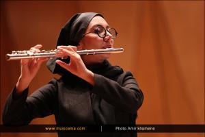 اجرای آنسامبل پرکاشن معاصر و آنسامبل پیرو در فستیوال موسیقی معاصر - اردیبهشت 1395