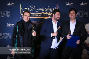 محمد علیزاده در جهارمین جشن سالانه موسیقی ما
