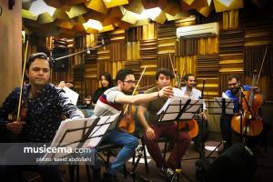 تمرین بابک جهانبخش و پروهش برای کنسرت - شهریور 1396