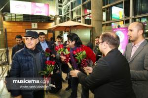 استقبال از عالیم قاسماف و پرواز همای در فرودگاه امام خمینی (ره) - 14 اسفند 1395