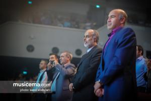 مدیر کل دفتر موسیقی وزارت ارشاد در کنسرت ریچارد کلایدرمن