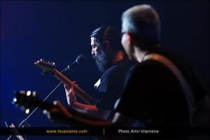 کنسرت فرشید اعرابی در برج آزادی - 10 خرداد 1395