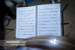 گفت و گو با حمید متبسم و وحید تاج در حاشیه تمرین کنسرت «تار و پود» - تیر 1396